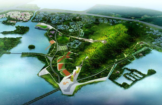 ZHUSHAN park landscaping